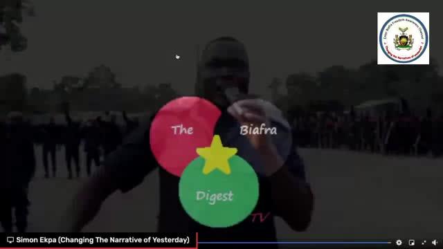 Late night broadcast with Simon Ekpa 24.3.2021  Attahiru  message to agitator...