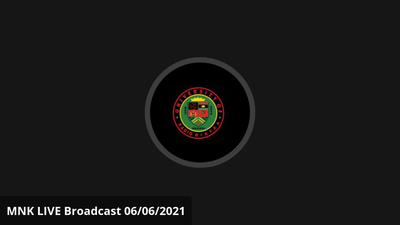 Mazi Nnamdi Kanu - Mazi Nnamdi Kanu LIVE Broadcast Radio Biafra
