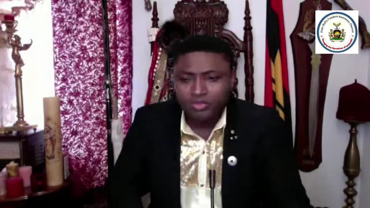 Simon Ekpa Special Live Broadcast, The record must be set straight, Mazi Nnamdi Kanu didn't Jump